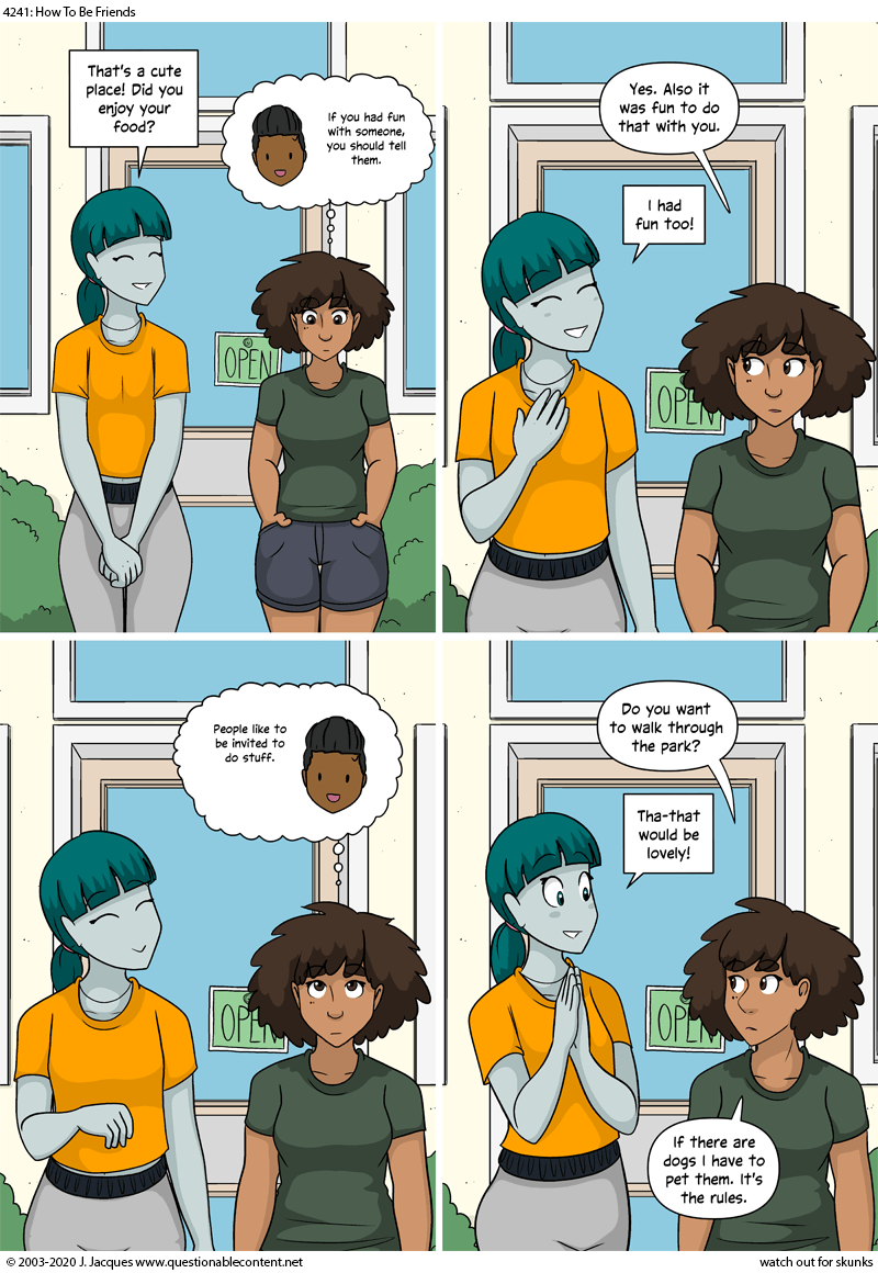 How To Be Friends